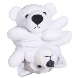Peek A-Boo Pals� Polar Bear/Husky Stuffed Animal